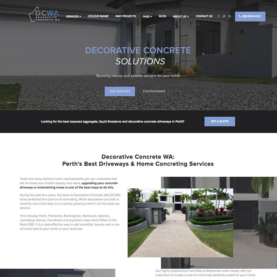 Decorative Concrete WA