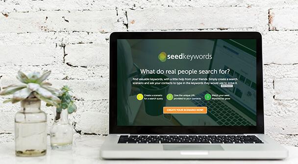Using the Seed Keywords generator