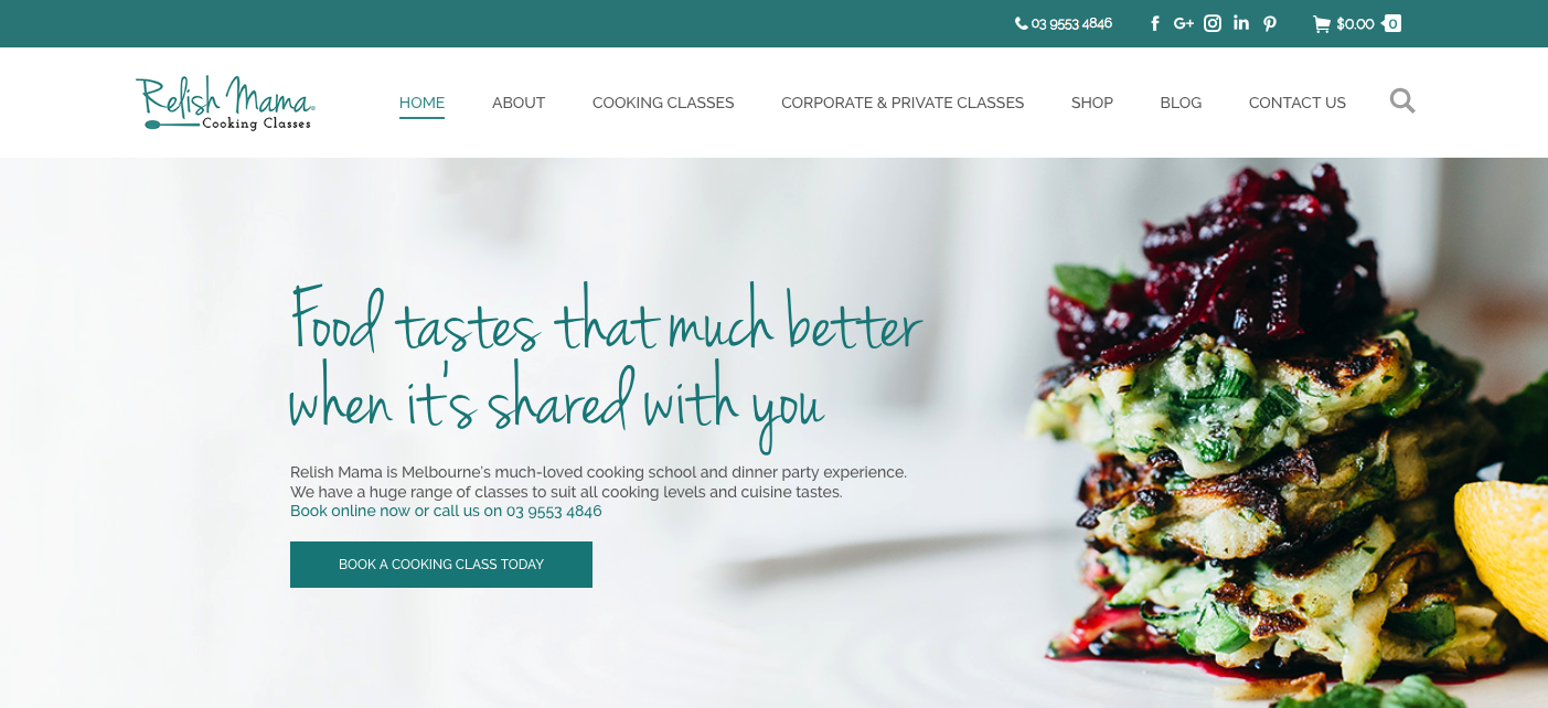 Relish Mama - An Example of Exceptional Web Design