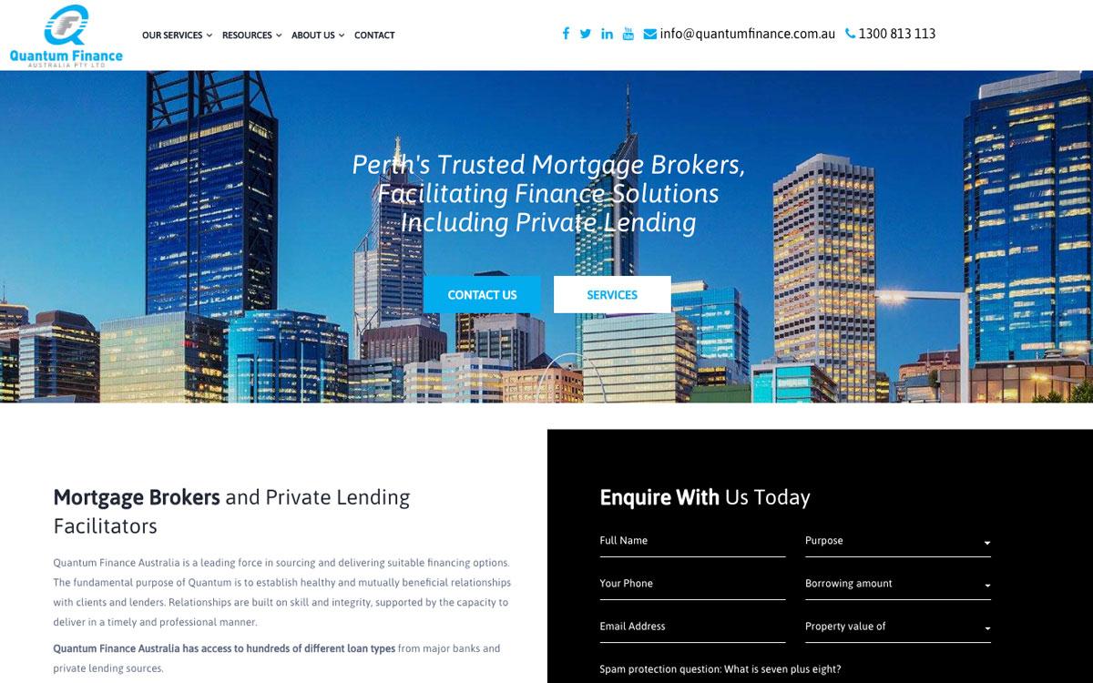 After Digital Hitmen redesign Quantum Finance Australia